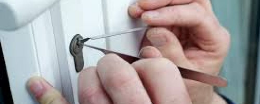 Using a shoelace and blood pressure measuring tool to open a car door