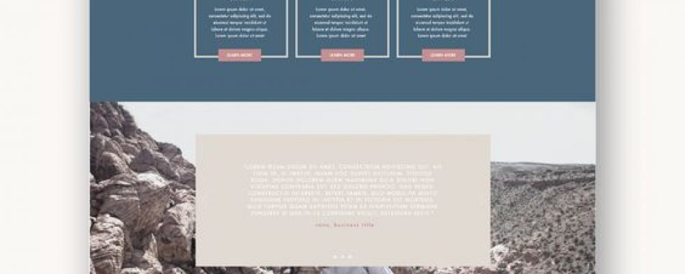 Make a Web Design That Matches Your Brand